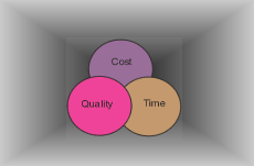 Cost, Quality, and Timescale - the 3 most important aspects of any Project!