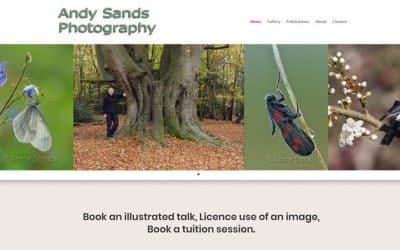 Professional photographer site