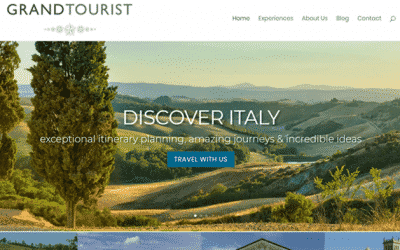 Luxury Italian Holiday Website