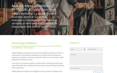 Mental Wellbeing Website