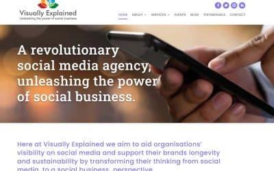 Social Media Agency Website