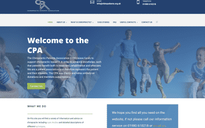 Chiropractic Patients Association website