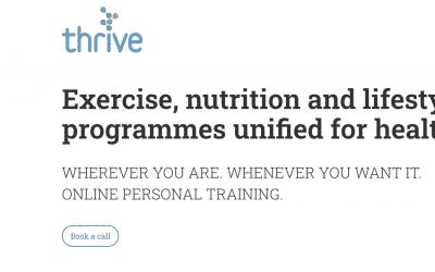 Online Personal Training Website